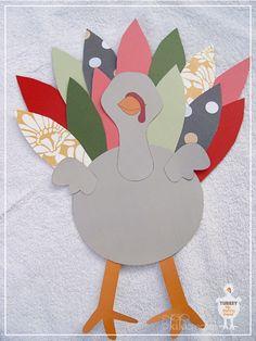 kiki creates: Mr. and Mrs. Turkey Potato Head {Free Downloads}