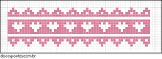 Um blog sobre ponto cruz, gráficos, bordados, mensagens Alpha Patterns, Cross Stitch Patterns, Knitting Patterns, Knitting Charts, Knitting Stitches, Baby Knitting, Knitted Stuffed Animals, Tiny Cross Stitch, Knit Stitches