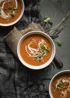 Try this delicious tomato and mascarpone cream soup recipe and other recipes from Red Online. Cream Soup Recipes, High Fiber Foods, Eating Eggs, Winter Soups, How To Cook Potatoes, Different Recipes, A Food, Food Processor Recipes, Food Photography