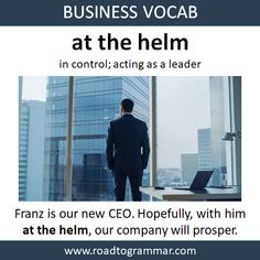 Business Vocab: At the Heml English Vocabulary Words, English Phrases, English Idioms, English Lessons, Interesting English Words, Learn English Words, English Vinglish, British English, Idioms And Proverbs