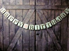 Birthday Party Decorations HAPPY BIRTHDAY By WineCountryBanners 2300