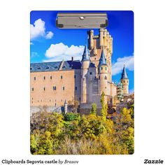 Shop Clipboards Segovia castle created by Brasov. Personalize it with photos & text or purchase as is!
