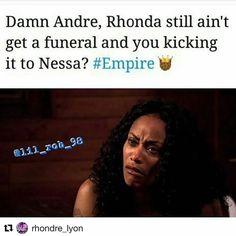 #Repost @rhondre_lyon with @repostapp  Nah I know Empire is playing right? Andre is not gonna move on that quickly right?  . . . . #empire #empireseason3 #empirefox #terrencehoward #tarajiphenson #traibyers #jussiesmollett #yazzthegreatest #kaitlindoubleday #gracegealey #gabbysidibe #tarhondajones #lusciouslyon #cookielyon #andrelyon #jamallyon #hakeemlyon #rhondalyon #anikacalhoun #teamrhondre #rhondrelyon #empirememes #memempire #empirememe EmpireBBK.com