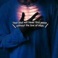 Hearts find peace in the remembrance of Allah