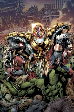 Age of Ultron - Marvel:  What are you willing to do to stop an undying AI? Wolverine must figure out how to stop Ultron without destroying the future