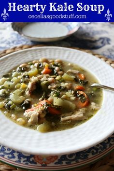 Hearty Kale Chicken Soup