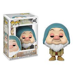 Disney Snow White and the Seven Dwarfs - Sleepy - Funko Pop! Disney Pop, Snow White Disney, Walt Disney, Disney Pixar, Pop Vinyl Figures, Funko Pop Figures, Sleepy Snow White, Funko Pop Dolls, Pop Toys