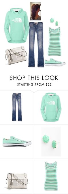 """""""Sporty!"""" by honeybee20 ❤ liked on Polyvore featuring Hollister Co., Converse, Kendra Scott, Coach and VILA"""