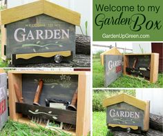 Looking for a fun Garden Project?  Create fun with these new Welcome to the Garden Stencils.