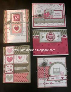 Kathy's Kreative Korner: LOVE is in the air-Valentine's Day Workshop!