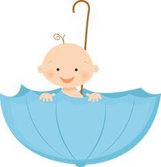bebe caricatura baby shower - Buscar con Google
