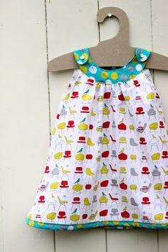 Snappy toddler dress - definitely one of my favorite projects I've done! There was a learning curve (first one I did took me a LONG time to figure out) but once I did, fairly easy!