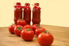 Házi fűszeres paradicsom – ketchup Canning Pickles, Ketchup, Menu, Homemade, Vegetables, Automata, Food, Instagram, Menu Board Design