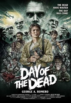 George A. Romero's 'Day of the Dead' By The Dude Designs