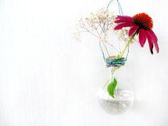 DIY Light Bulb Vase