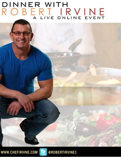 Food Network Gossip: Robert Irvine Trying Out A Live, Online Cooking Event