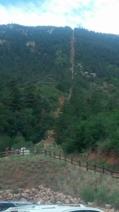 The Manitou Springs Incline: A love-hate relationship really. It's always a challenge but celebrating the victory at the end is priceless. It's great for team-building too.