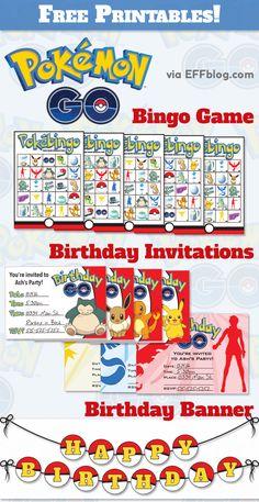 Pokémon Gopocalypse { a.k.a. a Slew of Free Printables! }