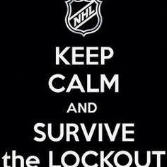 Yes we want hockey back