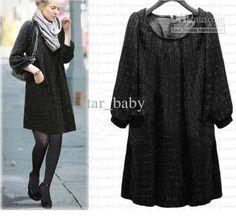 Wholesale Maternity Dress - Buy Weatern Style Noble Large Size Dress Elegant Fashion Classic Loose Half Sleeve Casual Dress Noble Maternity Dress Black EMS 8124, $31.36   DHgate