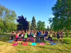 Summer Fitness in Kingston | Outdoor Yoga