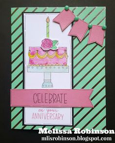 Heartfelt Sentiments: Stamp of the Month Blog Hop - Celebrate with Cake