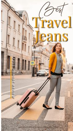 Jeans for traveling? Aviator has launched a new brand of jeans just for traveling, made to be breathable Travel Packing, Packing Tips, Europe Packing, Traveling Europe, Backpacking Europe, Travelling Tips, Travel Abroad, Usa Travel, Travel Advice