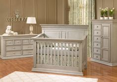 I love this nursery set more than any other!  Baby Caché - Vienna - Very special furniture for your very special baby