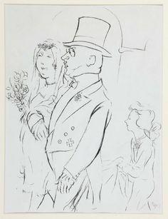 Grosz, George (Georg Ehrenfried): The Wedding (La boda)