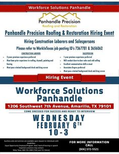 Workforce Solutions Panhandle (WSPanhandle) on Pinterest