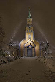 Tromso, Norway. I remember this church from my first trip to Norway.