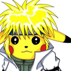 """Pikachu saw Minato and was all """"when i grow up..."""""""