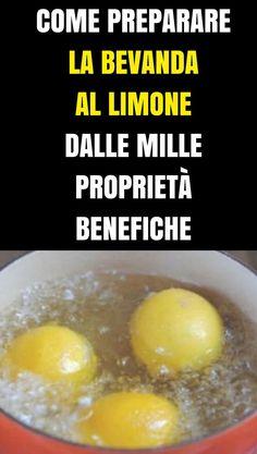 Mette A Bollire 3 Limoni Prima Di Andare A Letto: Il Motivo Ti Convincerà A Copiarla