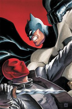 [Artwork] Batman vs Red Hood by Matt Wagner Comic Books Art, Comic Art, Book Art, Dragon Ball Z, Red Hood Jason Todd, Dc Memes, Batman Vs, Neon Genesis Evangelion, Nightwing