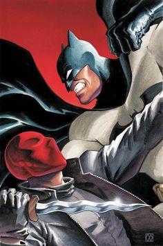 [Artwork] Batman vs Red Hood by Matt Wagner