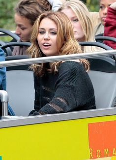 Miley Cyrus Photos: Miley Cyrus And The Cast Of 'LOL: Laughing Out Loud' Having Fun In Paris