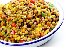 A delicious melody of chickpeas, spices and grains. Vegan Vegetarian, Vegetarian Recipes, Clean Eating, Healthy Eating, Legumes Recipe, Chana Masala, Chickpeas, Spices, Beans