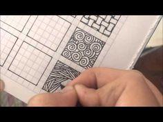 Patrones que uso para mandalas y zentangles. - YouTube