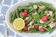 Green Bean and Tuna Salad | Simply Being Mommy