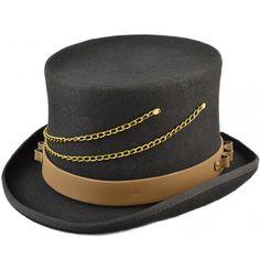 Steampunk, Hats, Fashion, Moda, Hat, Fashion Styles, Steam Punk, Fasion, Hipster Hat
