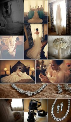 Davenport Hotel Wedding Reception Pictures | Bride Getting Ready Photos
