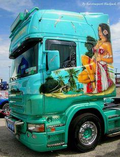 SCANIA truck !!!