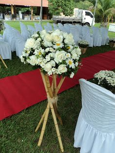 Dri Vergasta: Decoração do casamento Elisiane e Marcos (cerimônia)