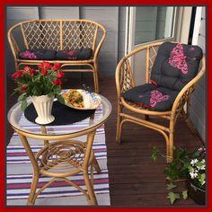 Middag for en på verandaen 😁🌥  5. august 2017, Tromsø