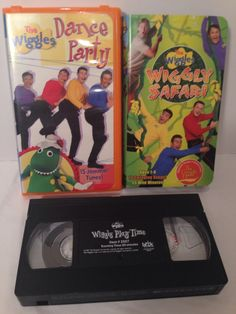 THE WIGGLES Lot 3 Pc VHS Video Tapes - Steve Irwin Wiggily Safari & More Steve Irwin, The Wiggles, Vhs Tapes, Love To Shop, Kids Videos, Selling On Ebay, Safari, Baseball Cards, Cool Stuff