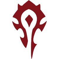 World of Warcraft Horde Logo Super cool World of Warcraft Horde photos
