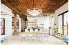 Williamsburg Loft Dining Room by Elizabeth Roberts | Remodelista