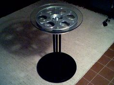 instructions on where to buy film reels and how to build a table