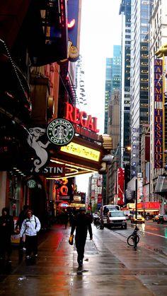 NYC New York City #raining