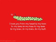 The love caterpillar.